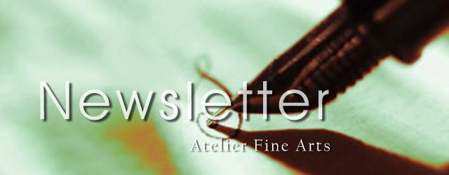 Newsletter Atelier Fine Arts