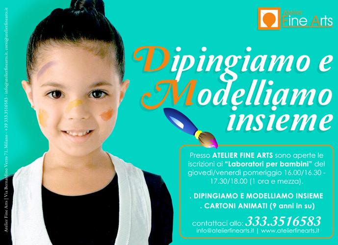Laboratori artistici per bambini | Atelier Fine Arts