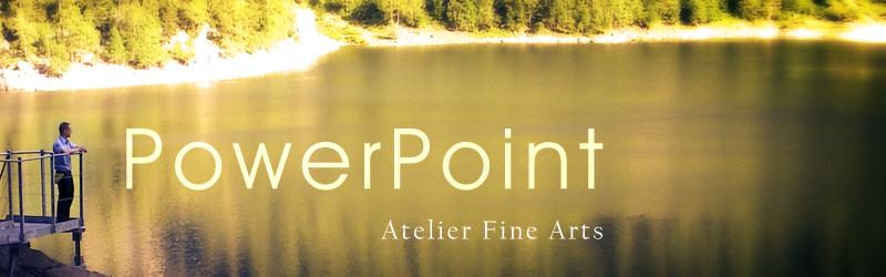 Corso di Power Point presso Atelier Fine Arts